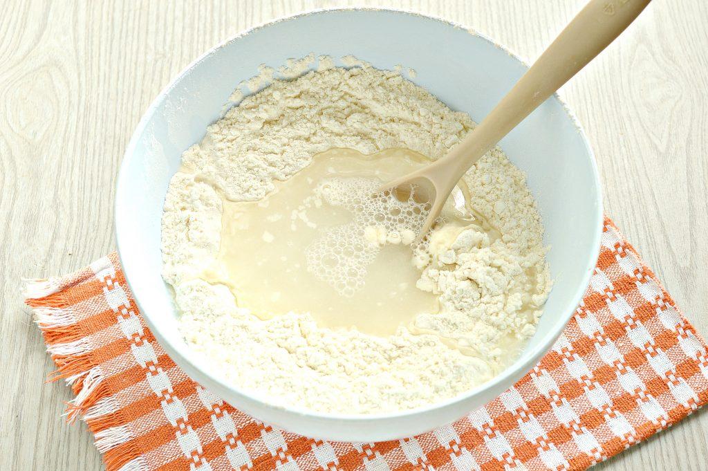 Фото рецепта - Постное тесто для мантов (без яиц) - шаг 4