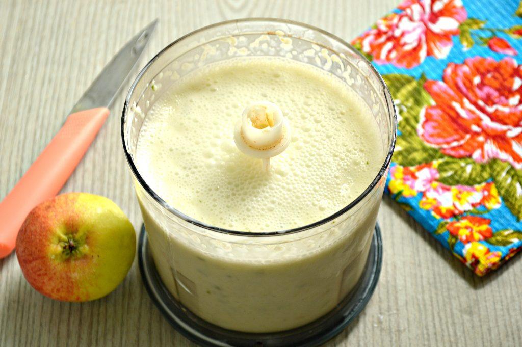 Фото рецепта - Смузи из огурцов с яблоком - шаг 5