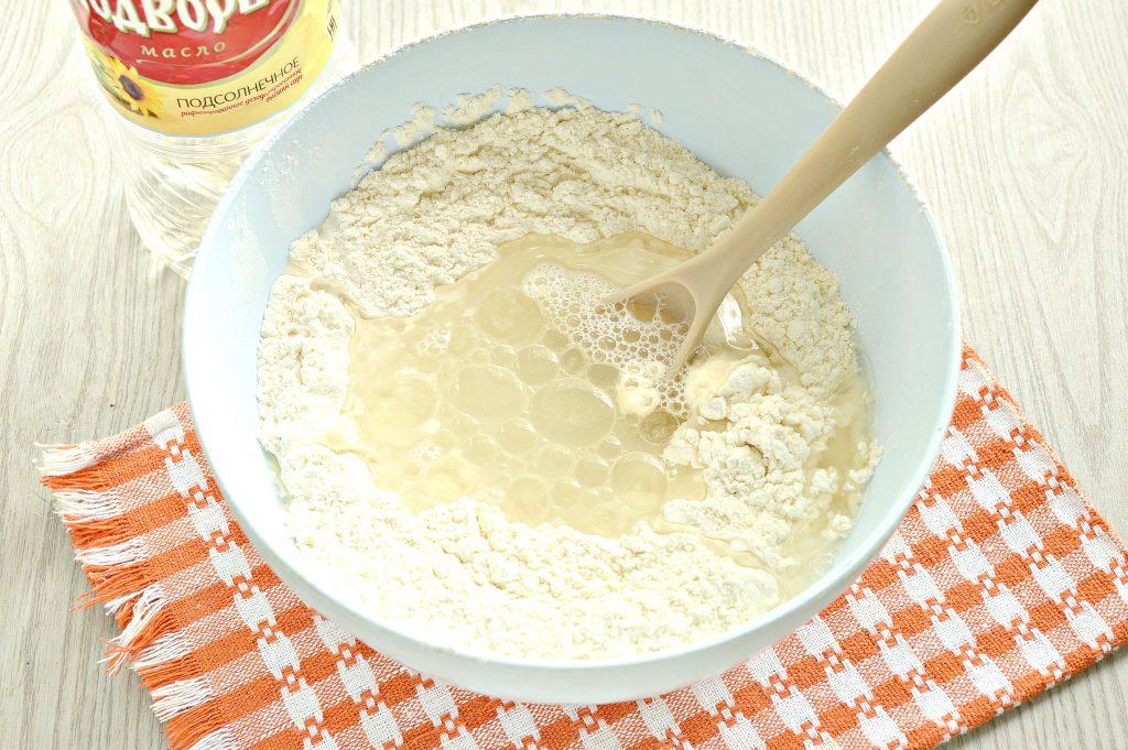 Фото рецепта - Постное тесто для мантов (без яиц) - шаг 5