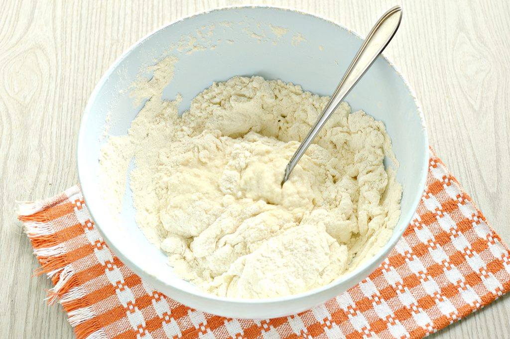 Фото рецепта - Постное тесто для мантов (без яиц) - шаг 6