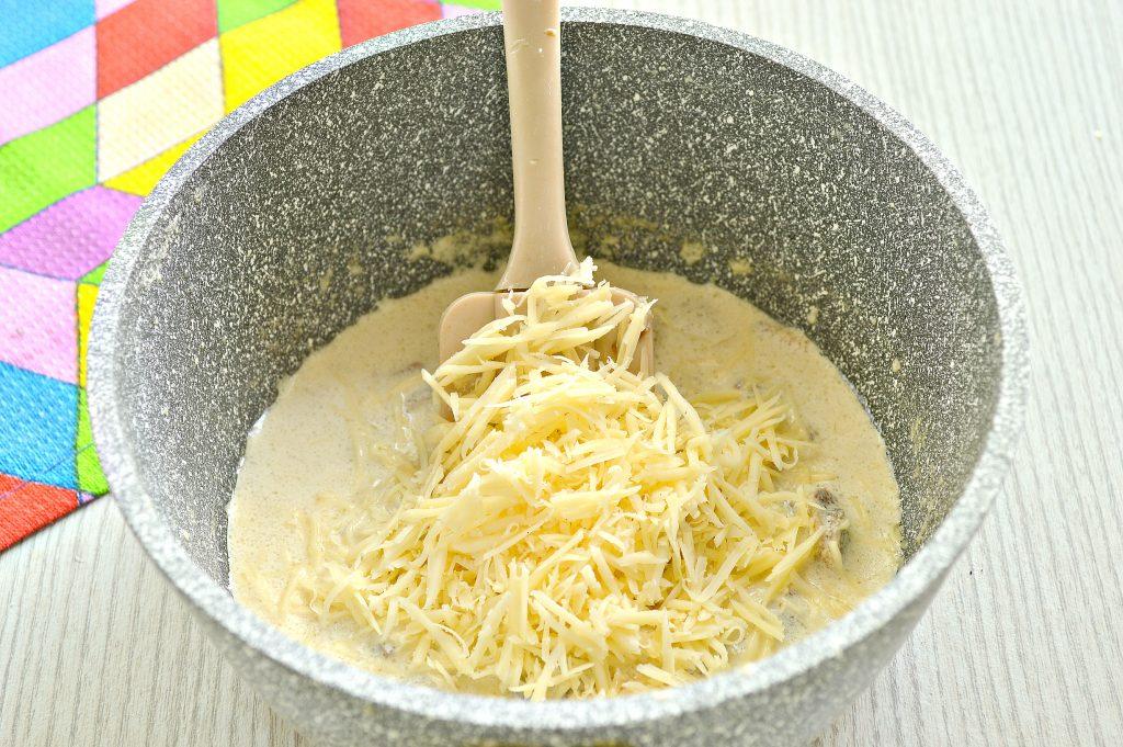 Фото рецепта - Грибной соус из шампиньонов - шаг 6