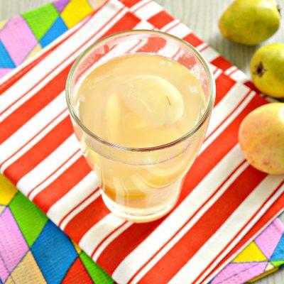 Компот из груш и яблок - рецепт с фото