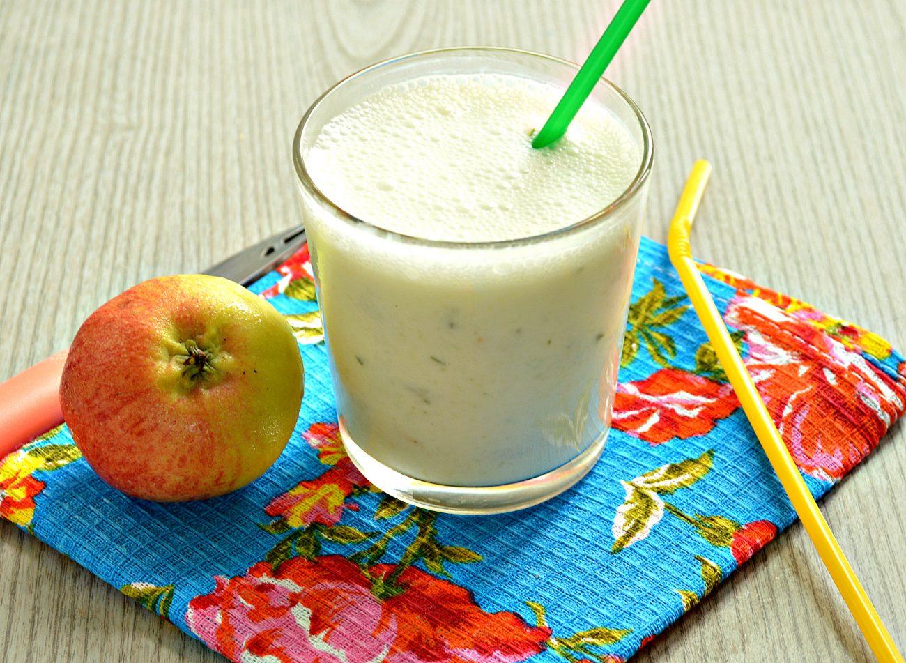 Смузи из огурцов с яблоком