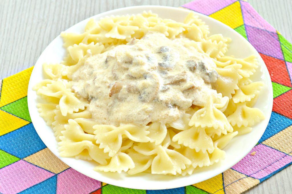 Фото рецепта - Грибной соус из шампиньонов - шаг 7