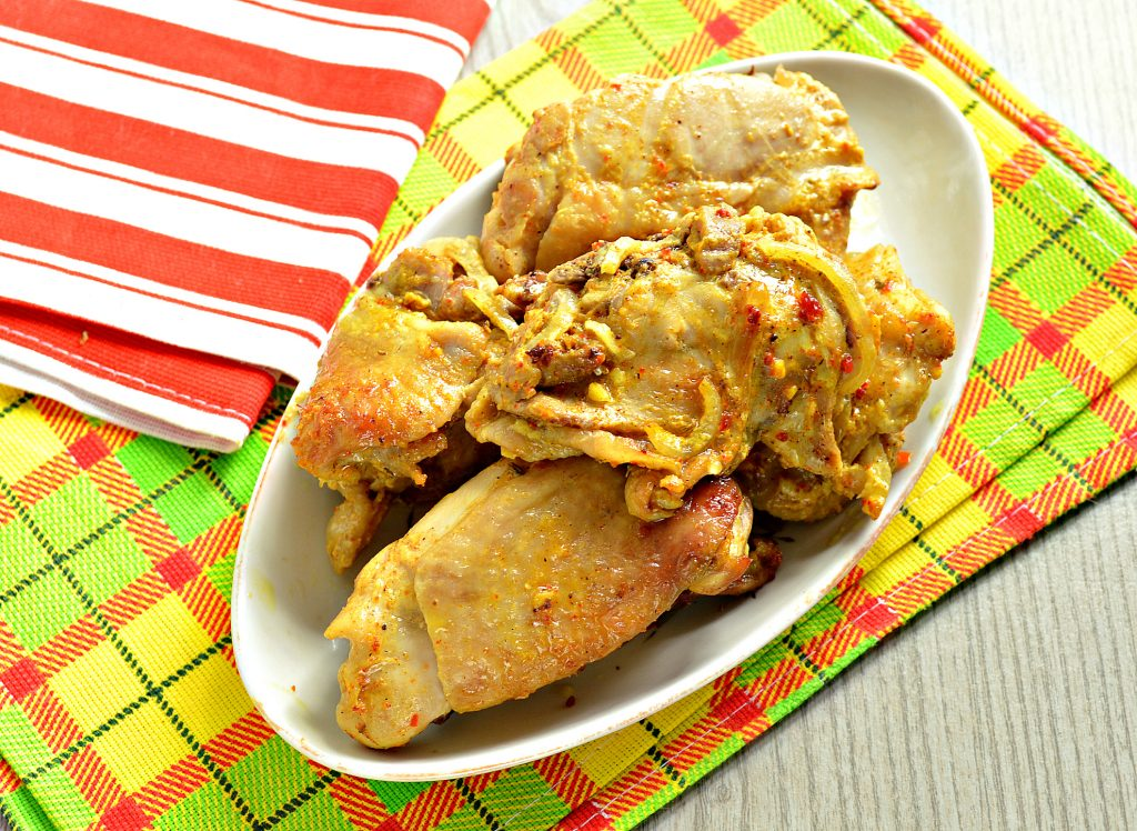 Фото рецепта - Курица кусочками в рукаве - шаг 8