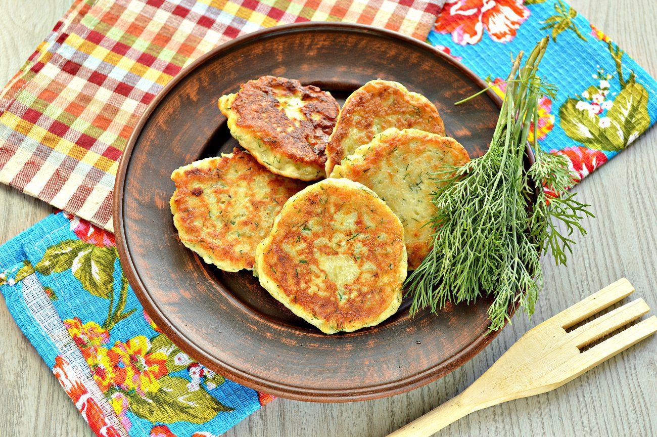 Картофельные оладьи из вареного картофеля