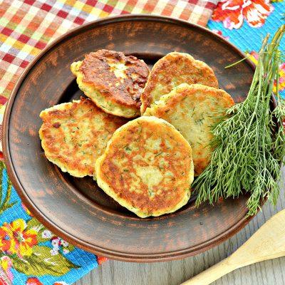 Картофельные оладьи из вареного картофеля - рецепт с фото