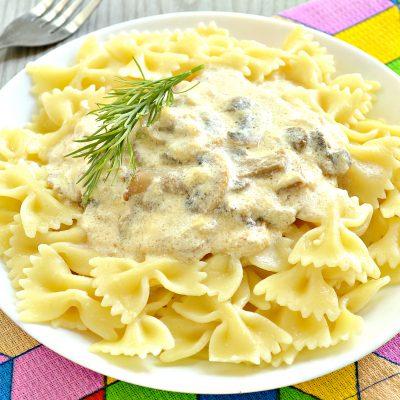 Грибной соус из шампиньонов - рецепт с фото
