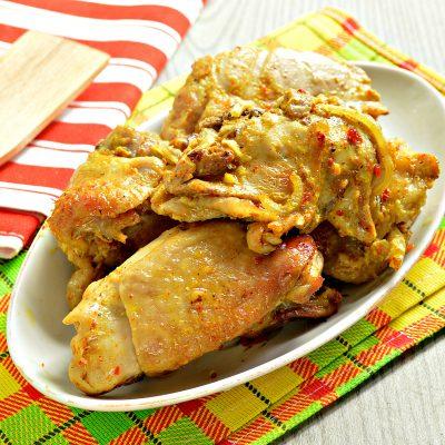 Курица кусочками в рукаве - рецепт с фото