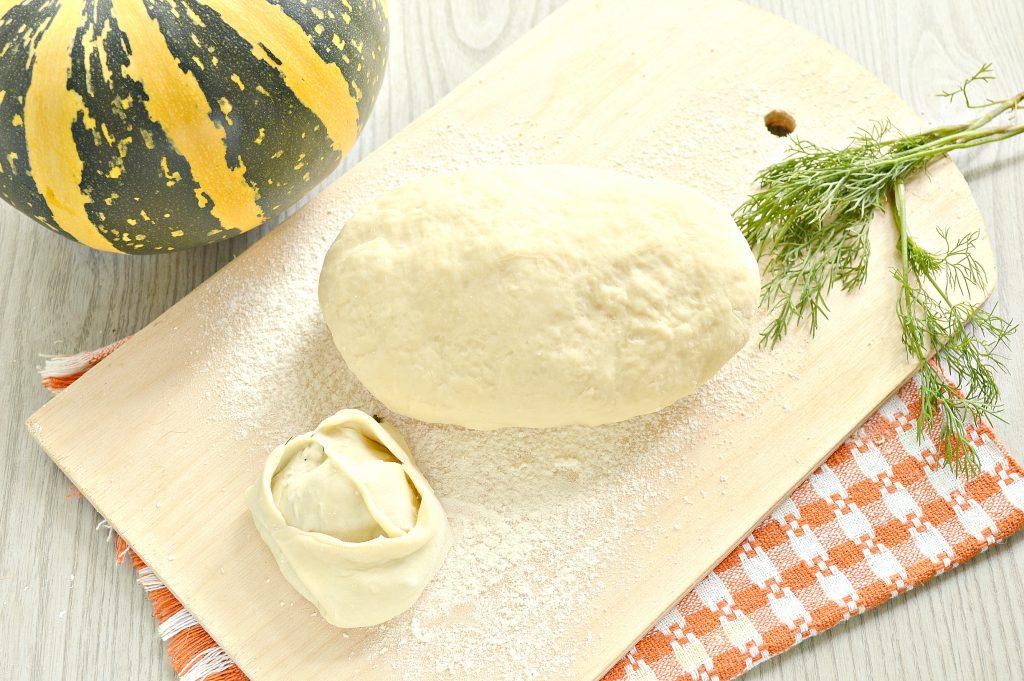 Фото рецепта - Постное тесто для мантов (без яиц) - шаг 9