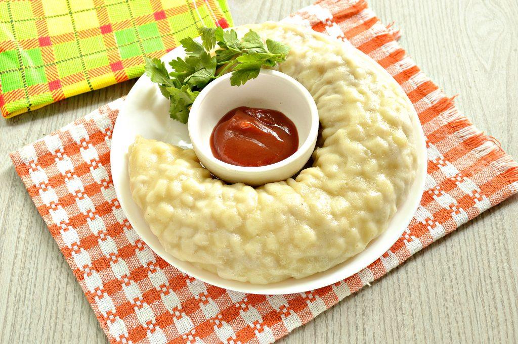 Фото рецепта - Ханум с картофелем и фаршем - шаг 9