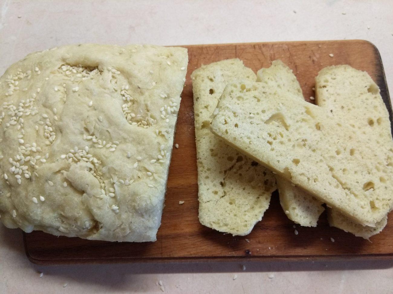 Хлеб в микроволновке за 6 минут