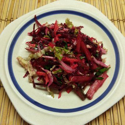 """Овощной салат """"Летнее настроение"""" с пекинской капустой - рецепт с фото"""