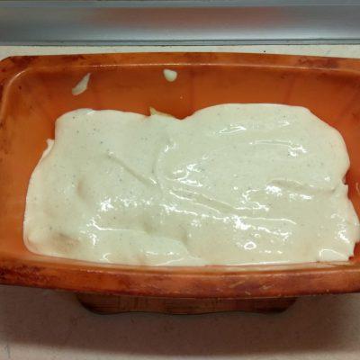 Фото рецепта - Творожная запеканка с яблоками и овсянкой - шаг 5