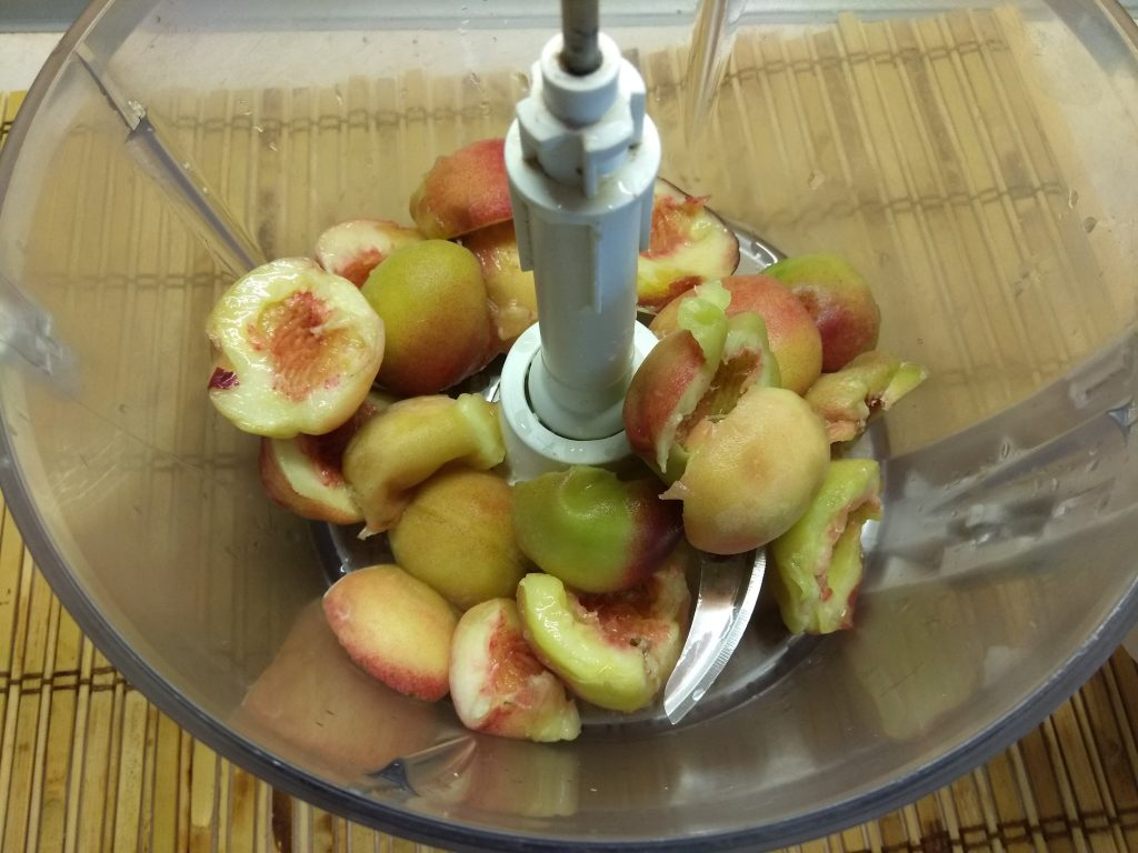 Фото рецепта - Персиковое мороженое на аквафабе - шаг 2