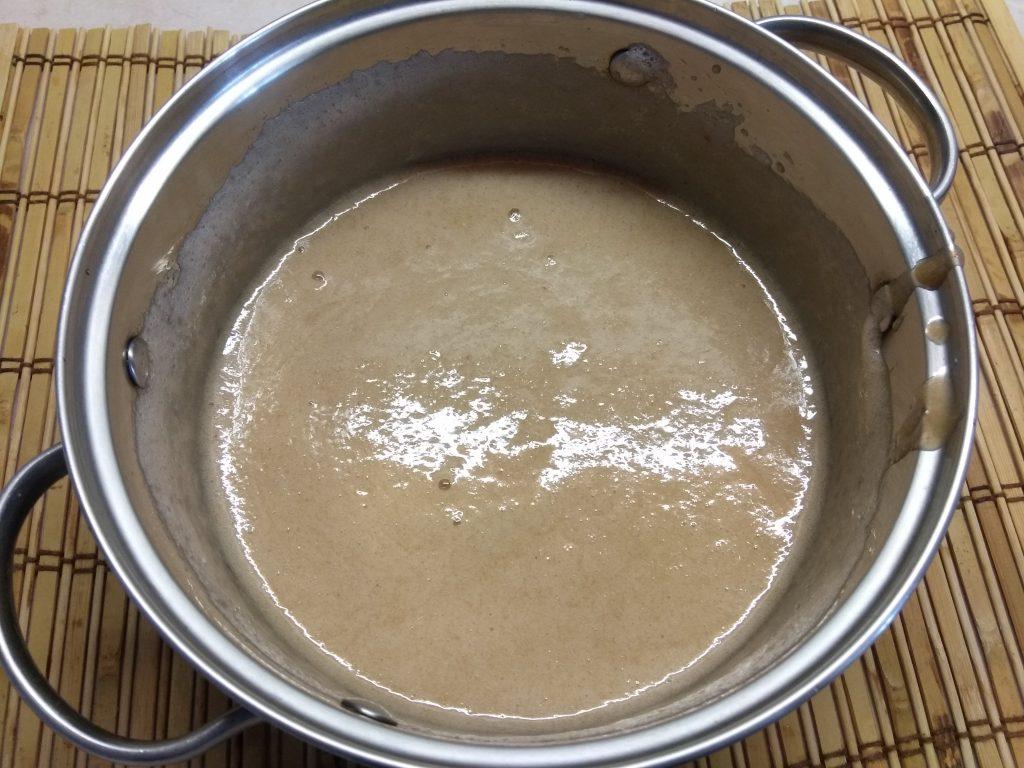 Фото рецепта - Персиковое мороженое на аквафабе - шаг 5