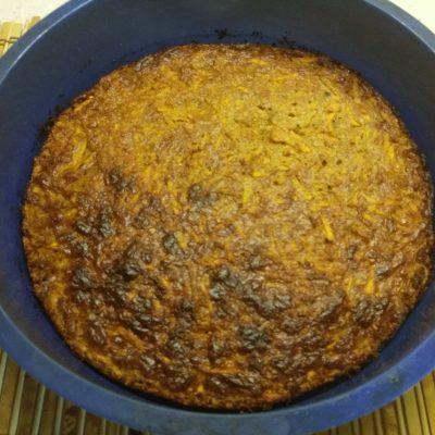 Фото рецепта - Морковный пирог с арахисом - шаг 4