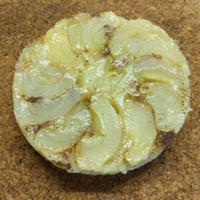 Тарт татен с яблоками, в микроволновке - рецепт с фото