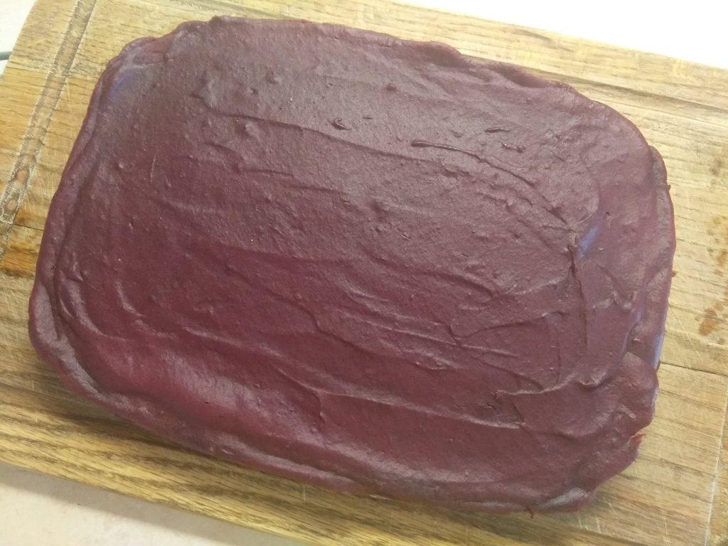 Фото рецепта - Свекольно-шоколадный брауни - шаг 6