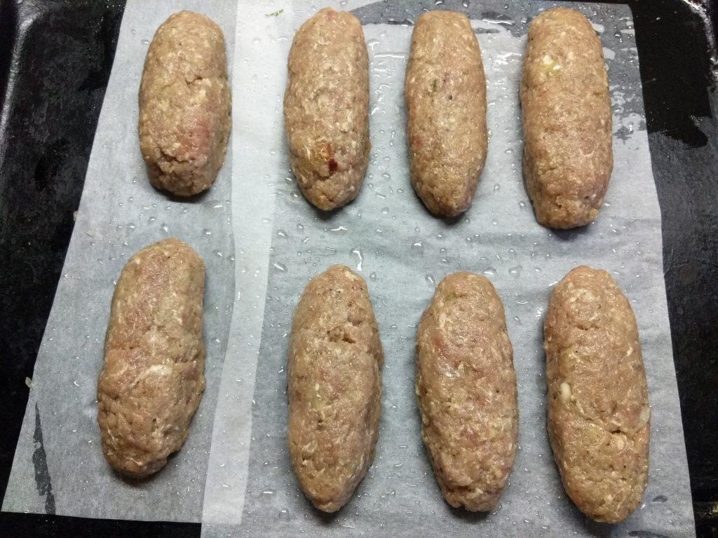 Фото рецепта - Люля-кебаб из свинины в духовке - шаг 3