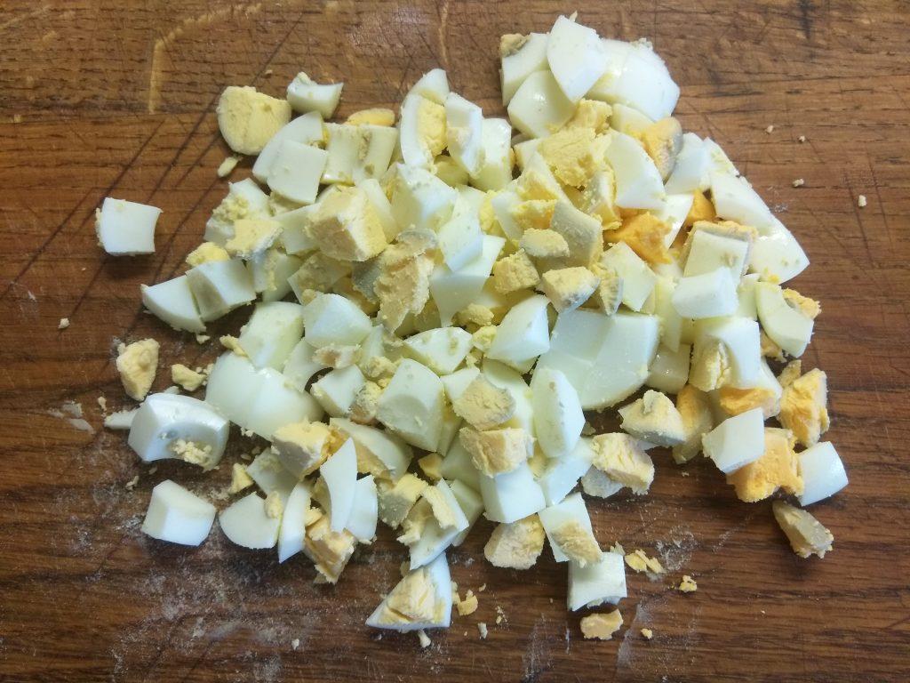 """Фото рецепта - Салат с куриной грудкой и яблоком """"Мечта гурмана"""" - шаг 2"""