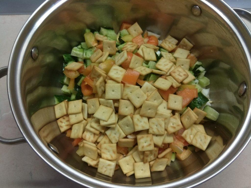 """Фото рецепта - Салат с куриной грудкой и яблоком """"Мечта гурмана"""" - шаг 5"""