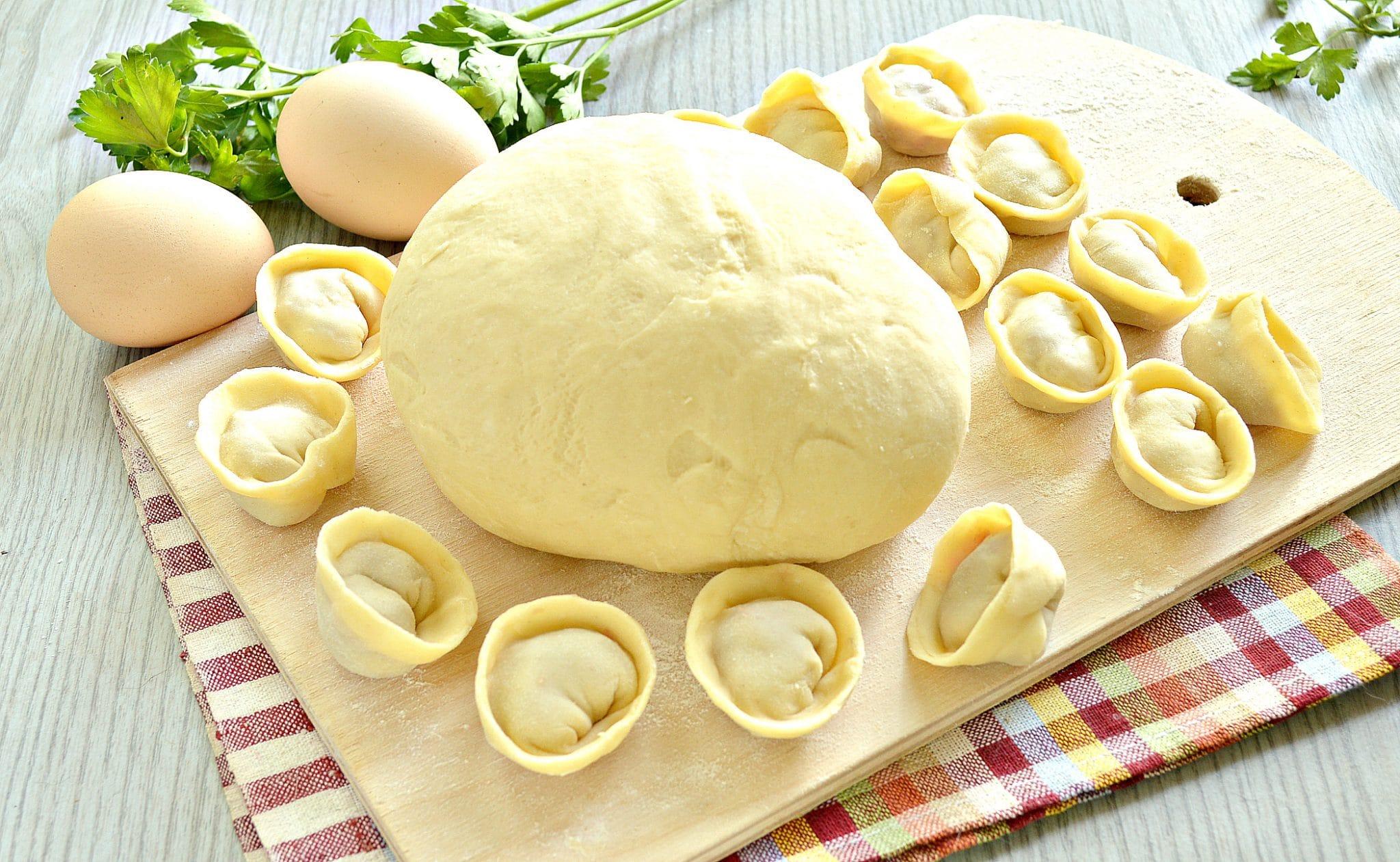 круглый тесто на пельмени пошаговый рецепт с фото этот