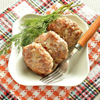 Сочные мясные котлеты с тыквой - рецепт с фото