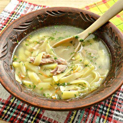 Лапшичный суп с индейкой - рецепт с фото