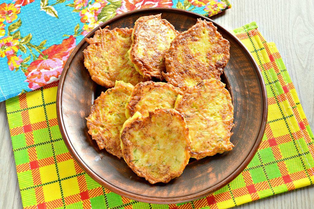 Фото рецепта - Драники картофельные с тыквой - шаг 8