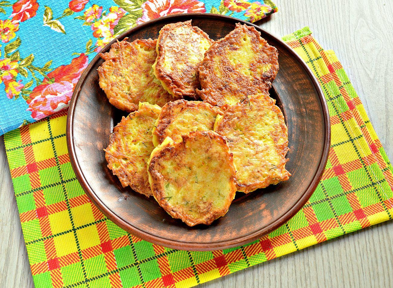 Драники картофельные с тыквой