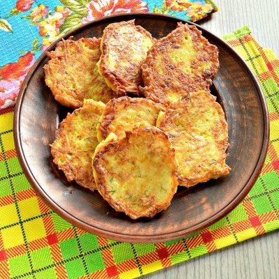 Драники картофельные с тыквой - рецепт с фото