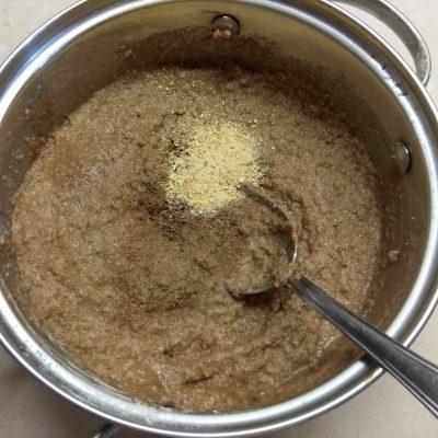 Фото рецепта - Диетический ПП кекс из сухофруктов - шаг 2