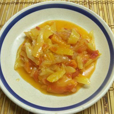 Лечо из болгарского перца и помидоров - рецепт с фото