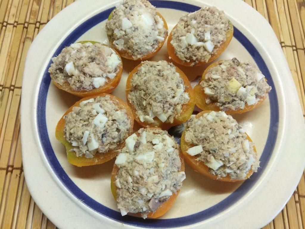 Фото рецепта - Помидоры, фаршированные сардинами и яйцами - шаг 4
