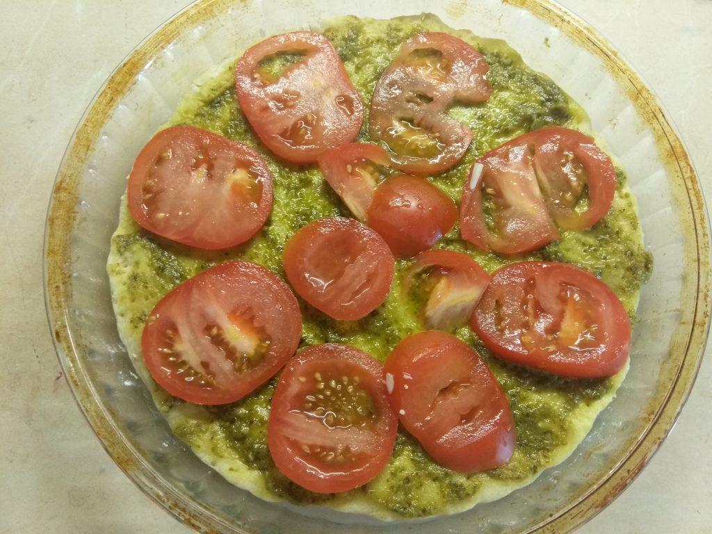 Фото рецепта - Пицца Маргарита по –новому - шаг 3