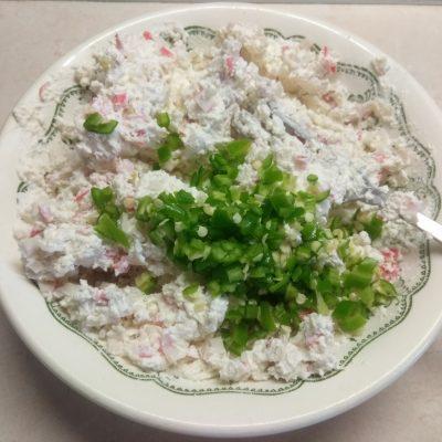 Фото рецепта - Холодная закуска – Фаршированный болгарский перец творогом и сыром - шаг 4