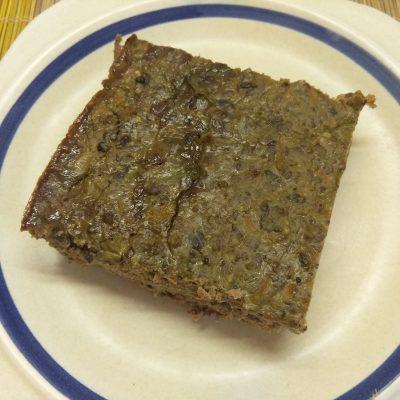 Печеночная запеканка с кабачком и баклажанами - рецепт с фото