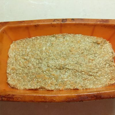 Фото рецепта - Пирог бананово-морковный пряный - шаг 4