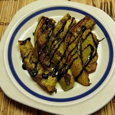 Фото рецепта - Тыква, запеченная в духовке с тимьяном - шаг 5