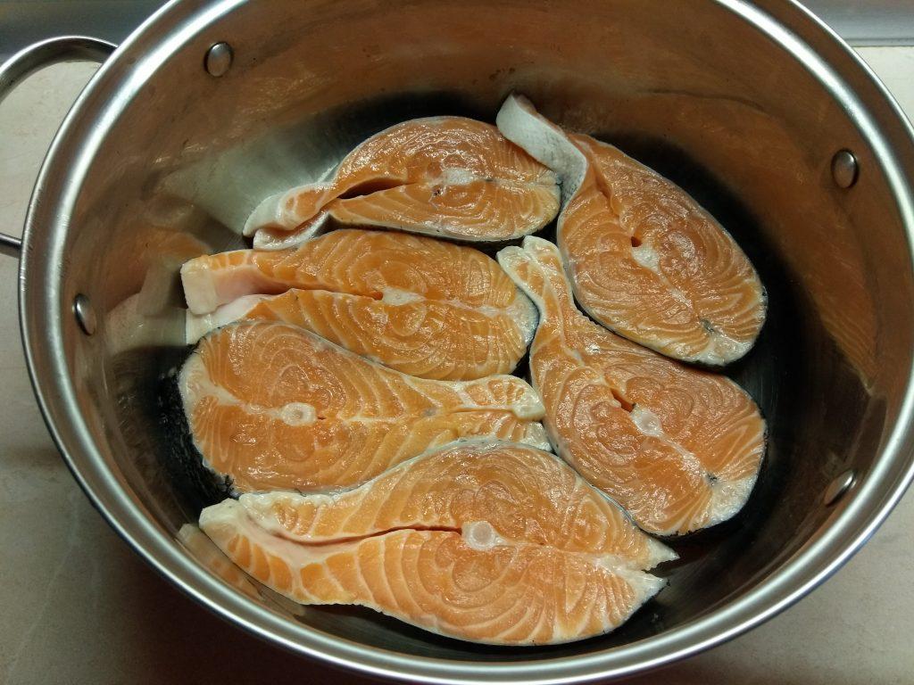 Фото рецепта - Маринованный запеченный лосось - шаг 1