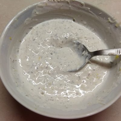 Фото рецепта - Мидии, запеченные под чесночно-сметанным соусом - шаг 5
