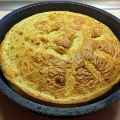 Пирог с сосисками - рецепт с фото