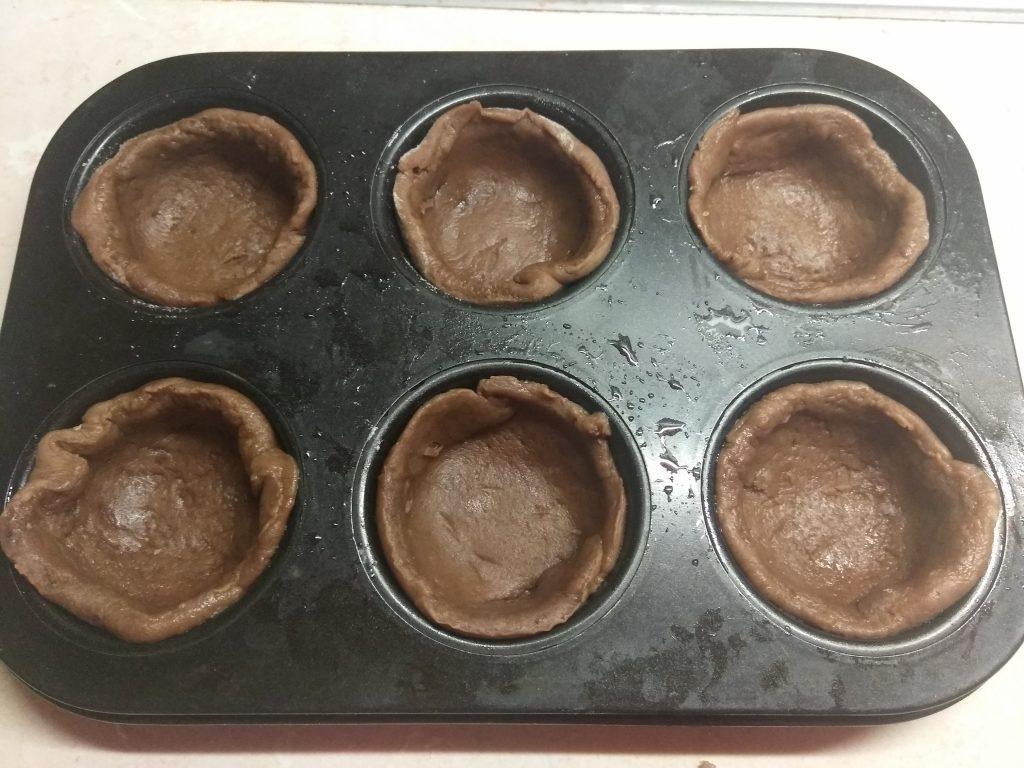 Фото рецепта - Мини-тарты с калиновым заварным кремом - шаг 5