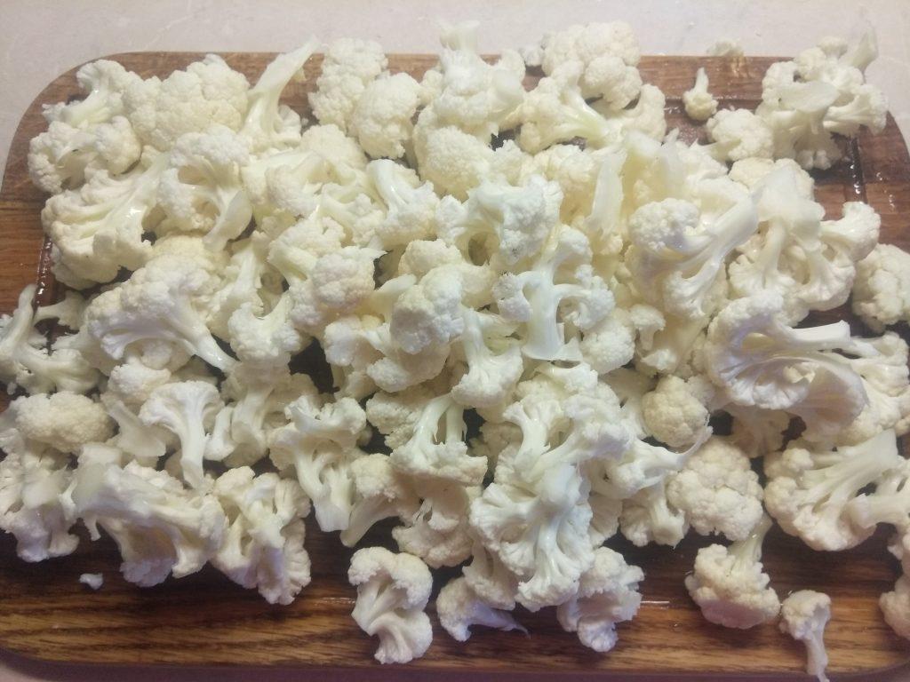 Фото рецепта - Постное рагу из цветной капусты - шаг 3