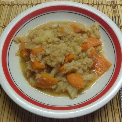 Постное рагу из цветной капусты - рецепт с фото