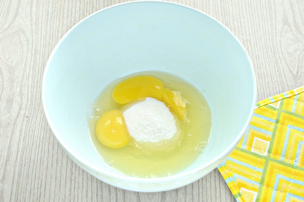 Фото рецепта - Заварные блины на прокисшем молоке - шаг 2