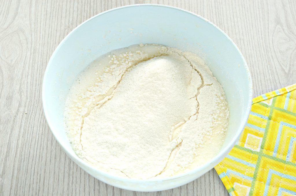 Фото рецепта - Заварные блины на прокисшем молоке - шаг 4