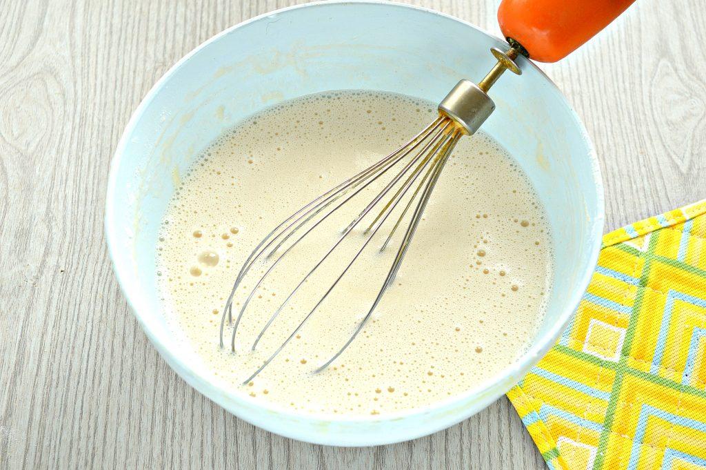 Фото рецепта - Заварные блины на прокисшем молоке - шаг 5