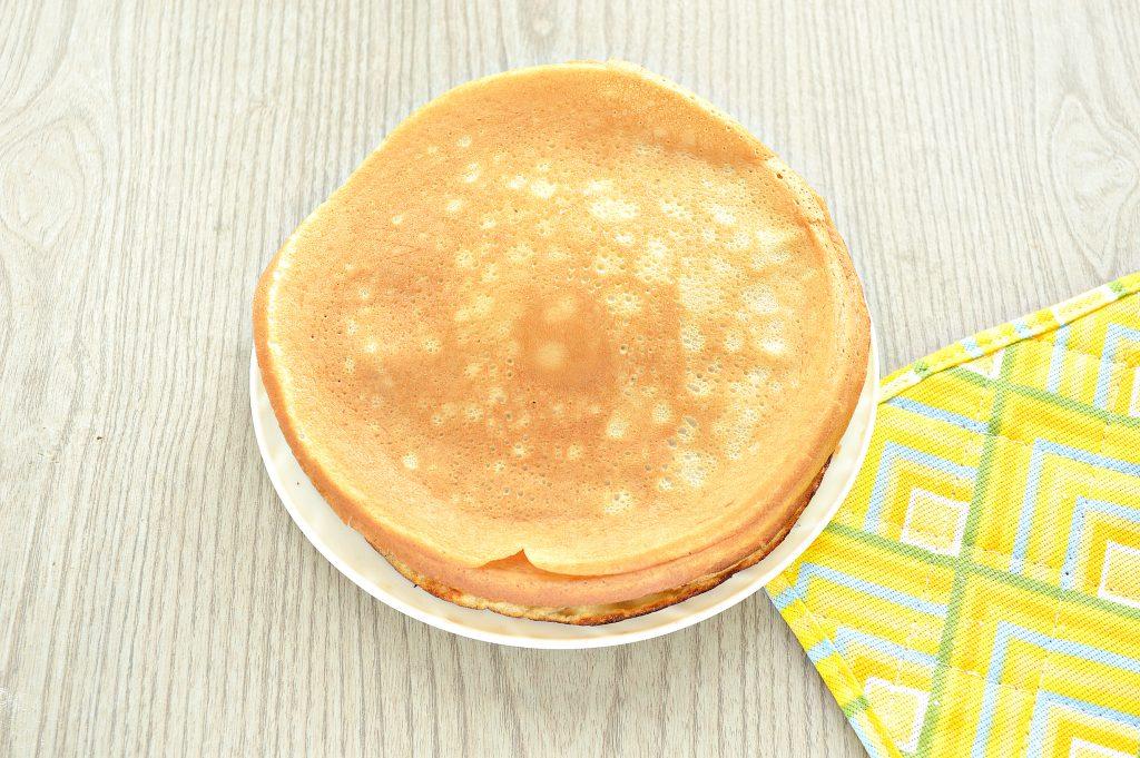 Фото рецепта - Заварные блины на прокисшем молоке - шаг 6